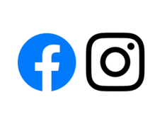 Facebook and Instagram Website