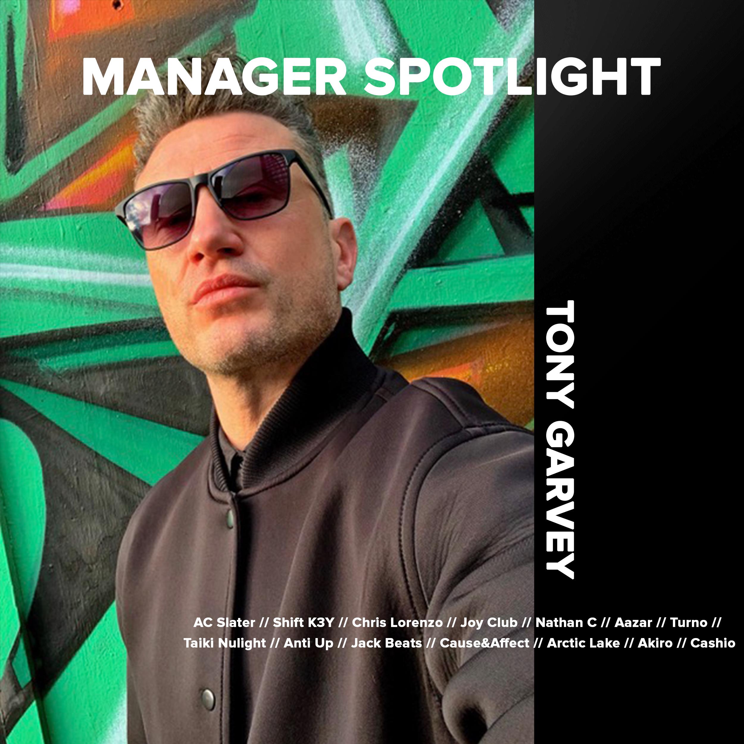Manager Spotlight Tony G