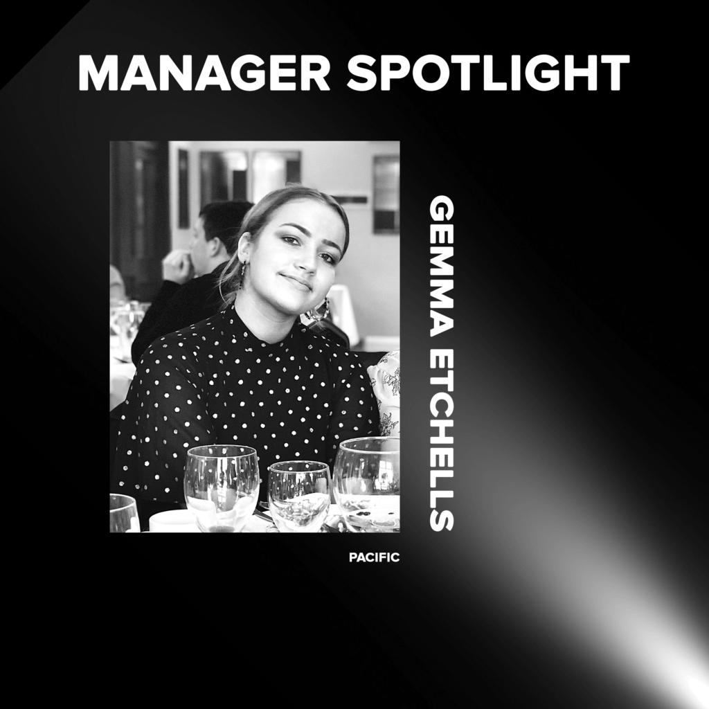 Gemma Etchells Manager Sptlight