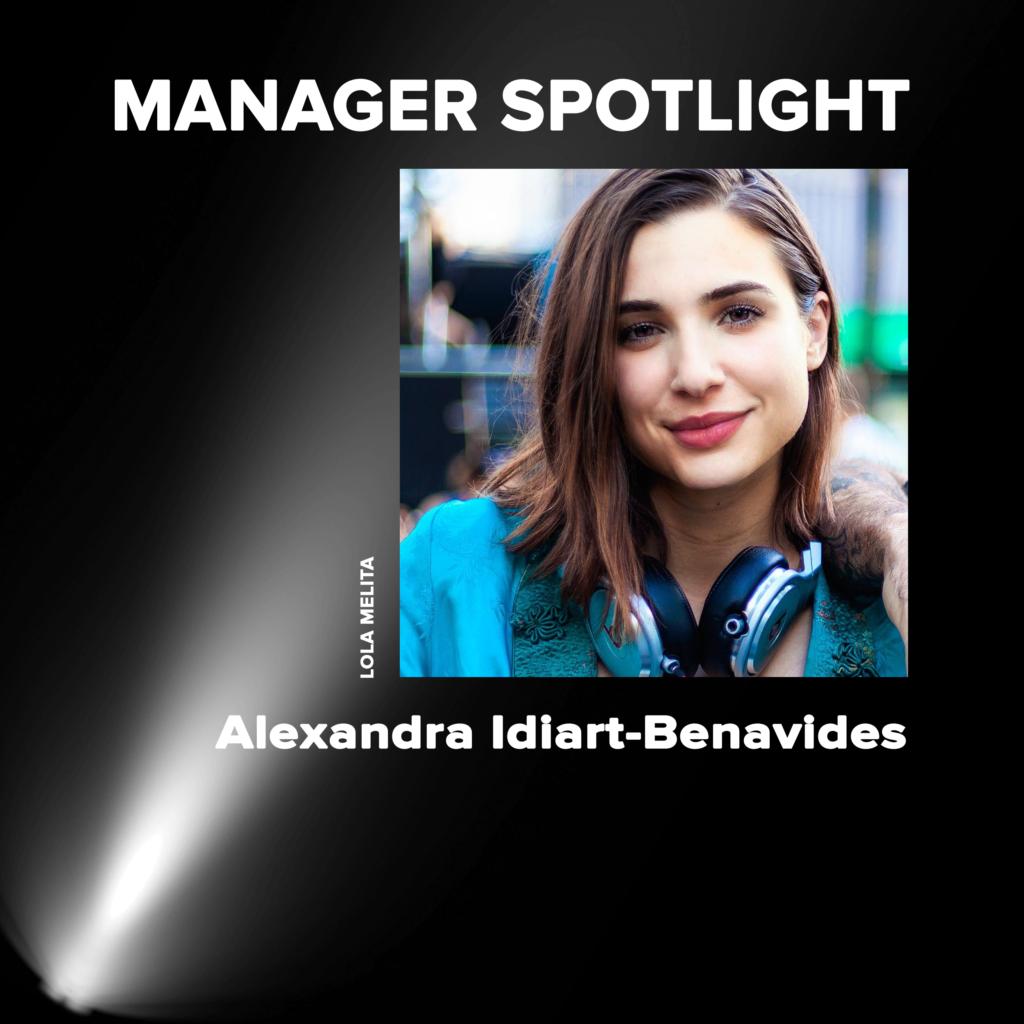 Manager Spotlight Alexandra