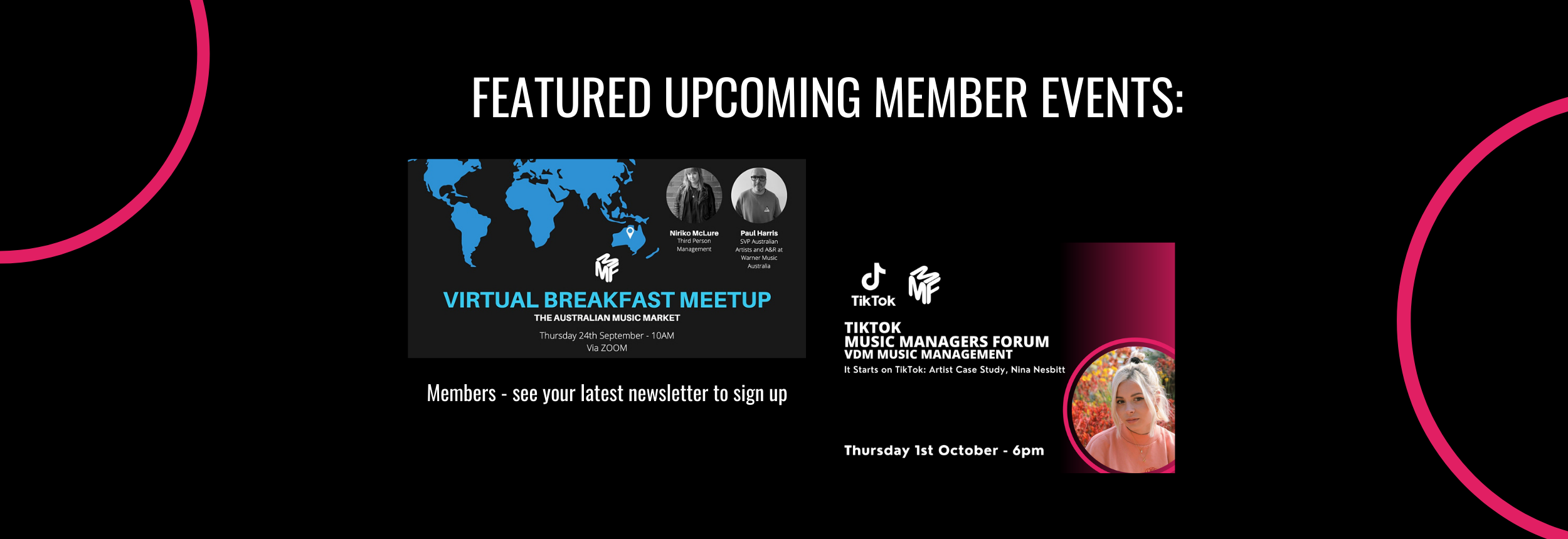 Upcoming-member-events
