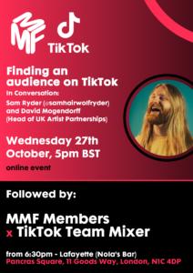 TikTok 27th October Full Flyer 2